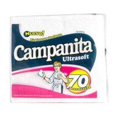 Servilletas-Descartables-Campanita-Soft-Servilletas-Campanita-Soft-Blanca-33-X-33-Cm-Paquete-70-U-1-2774