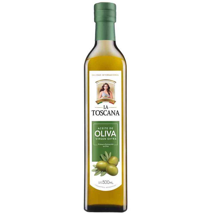 Aceite de oliva La Toscana 500 cc