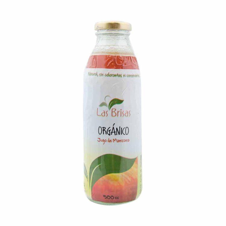 Jugo De Manzana Organico Las Brisas 500 Cc - jumboargentina