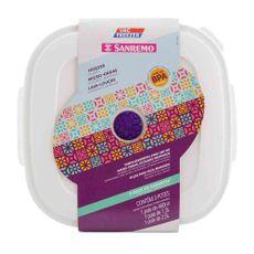 Set-Hermetico-San-Remo-Plastico-Cuadrado-Colores-Varios-06-15-29cc-Set-De-3-Tuppers-De-Plastico-San-Remo-1-20355
