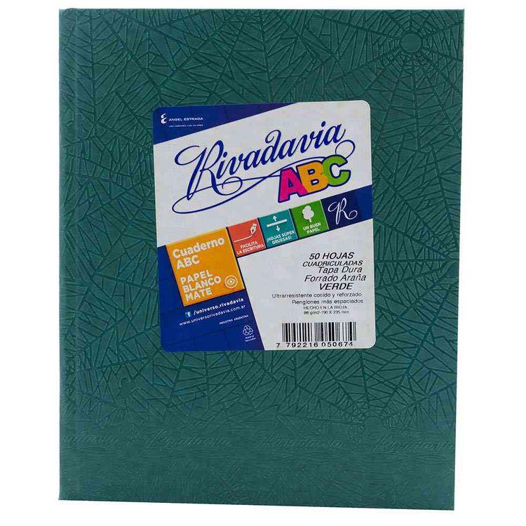 Cuaderno-Abc-Rivadavia-Verde-48-Hjs-Cua-Cuaderno-Cuadriculado-Verde-Rivadavia-Abc-48-Hojas-1-21326