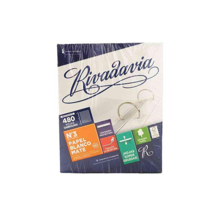 Repuesto-Rivadavia-Fsc-Blanco-Mate-Cuadriculado-480-Hojas-Repuesto-Cuadriculado-Rivadavia-480-Hojas-Blanco-Mate-1-23031