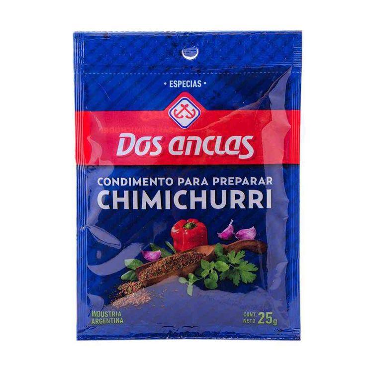 Chimichurri Dos Anclas 25 grs
