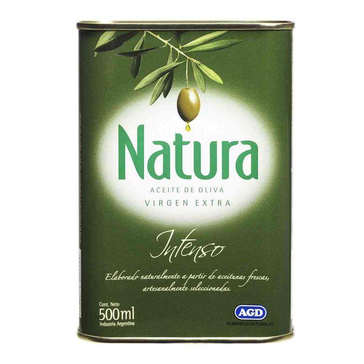 Aceite de oliva Natura intenso lata 500 cc