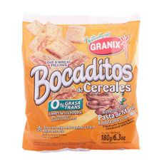 Bocaditos-De-Cereal-Granixx-180g-Bocaditos-De-Cereal-Rellenos-Con-Pasta-De-Mani-Granix-180-Gr-1-33812