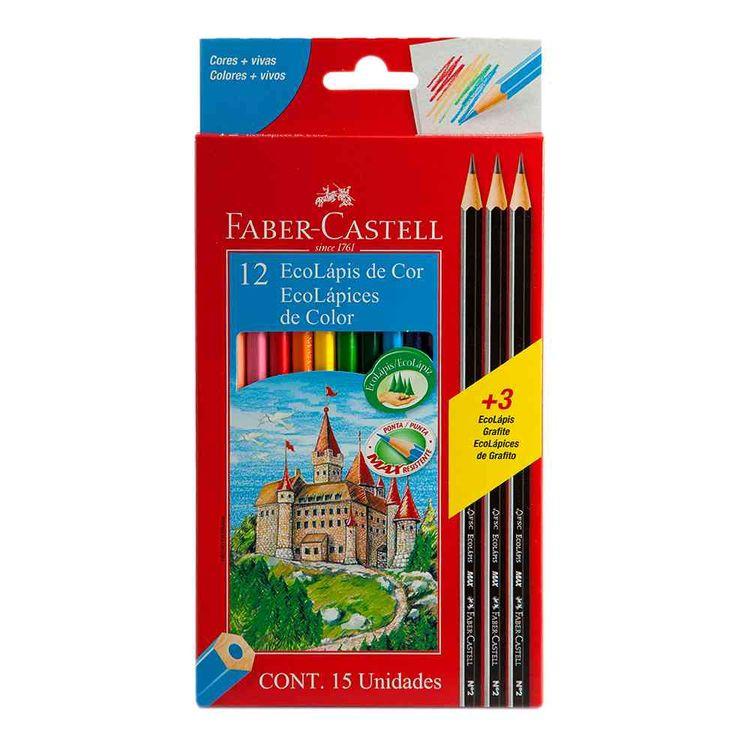 Lapices-De-Colores-Faber-Castell-X-12-Und----3-Grafitos-Gratis-Lapices-De-Colores-12-Unidades---3-Grafitos-Faber-Castell-1-36672
