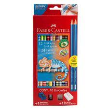 Ecolapices-Faber-Castell-Bicolor-X12---2-Grafitos---Goma---Sacapuntas-Lapices-De-Colores-Bicolor-12-Unidades---2-Grafitos---Goma---Sacapuntas-Faber-Castell-1-36683