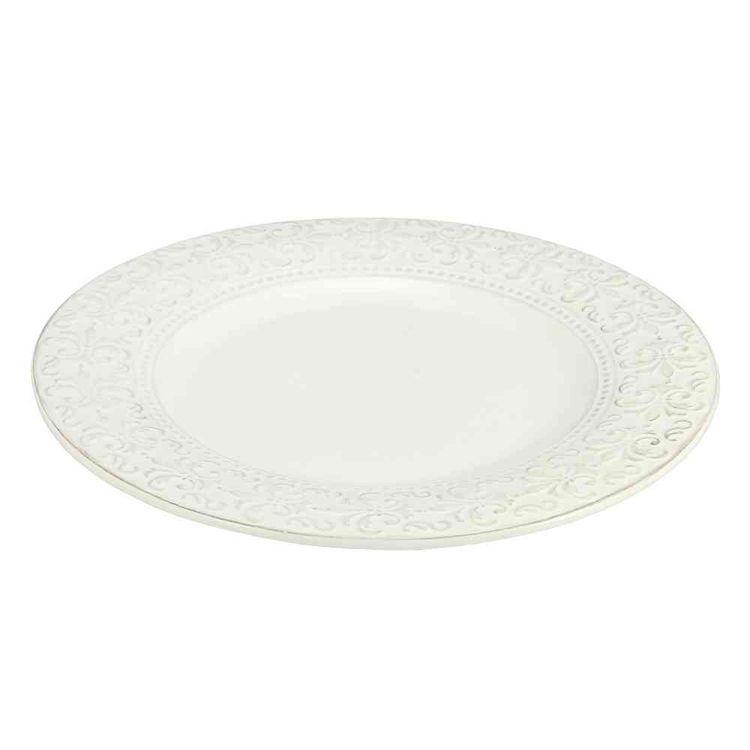 Plato-Ceramica-C--Borde-Tramado-Flor-De-Liz-253cm-Plato-De-CerAmica-Con-Borde-Tramado-253-Cm-1-37021