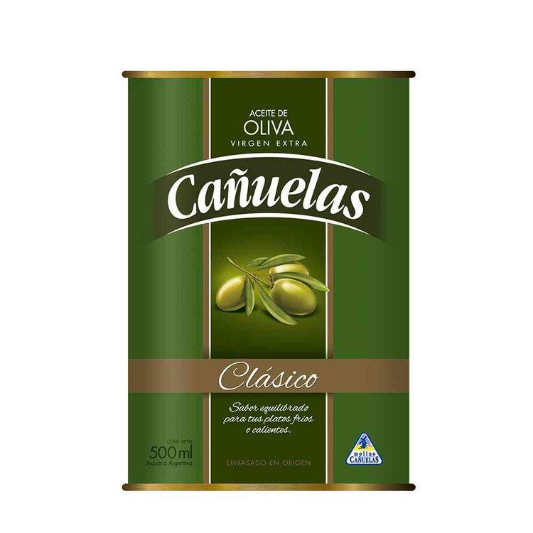Aceite de oliva Cañuela clasi lata 500 cc