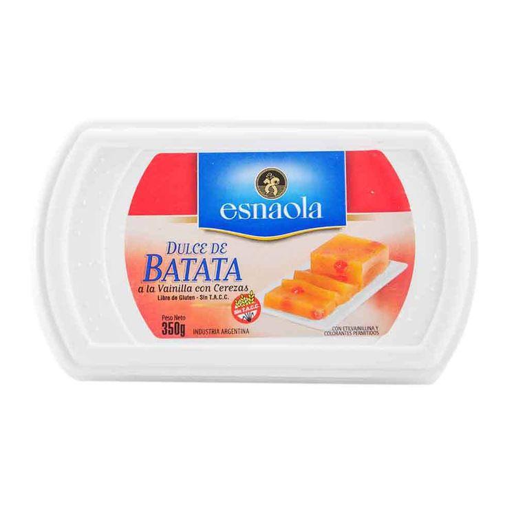 Dulce De Batata Esnaola Con Cereza 350 Gr - jumboargentina