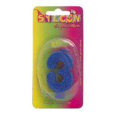 Velas-Cotillon-Sylcon--N°-3-X-3-Un-1-239853