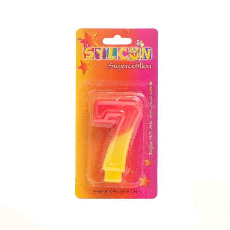 Velas-Cotillon-Sylcon-X-1-Un-N°-7--S-e-1-Un-1-241153