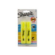 Resaltador-Sharpie-Blade-Amarillo-2-Unidades-1-24047