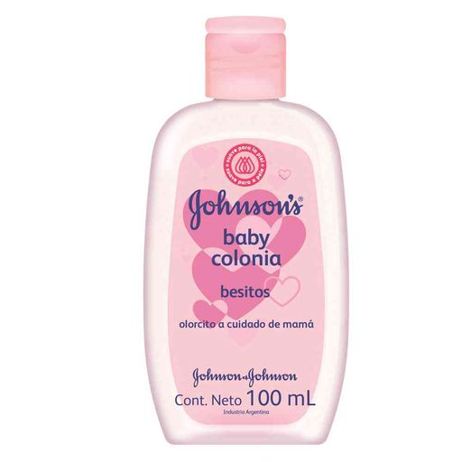 Colonia Johnson besitos rosa 100 ml