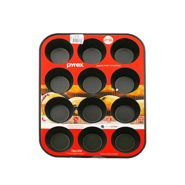 Molde-De-12-Muffins-De-Teflon-Pyrex-1-23577
