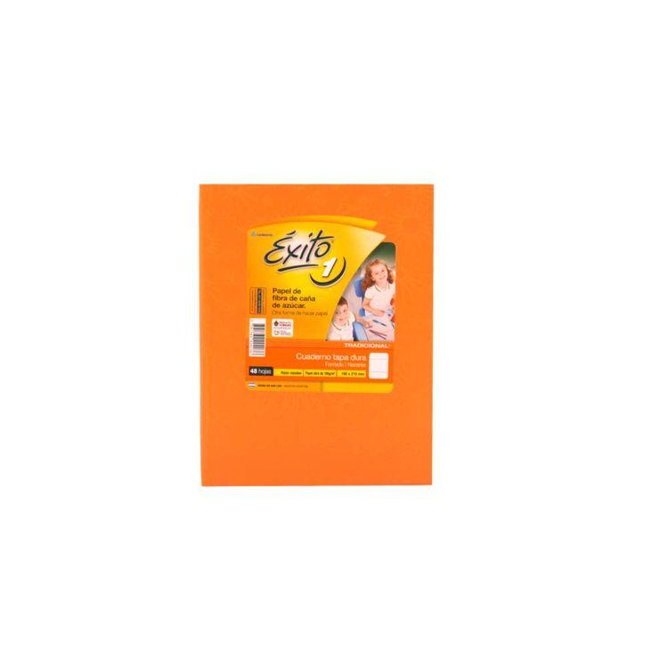 Cuaderno-Rayado-Exito-Araña-Naranja-Tapa-Dura-48-Hojas-Cuaderno-Rayado-Tapa-Dura-Araña-Naranja-exito-48-Hojas-1-1827
