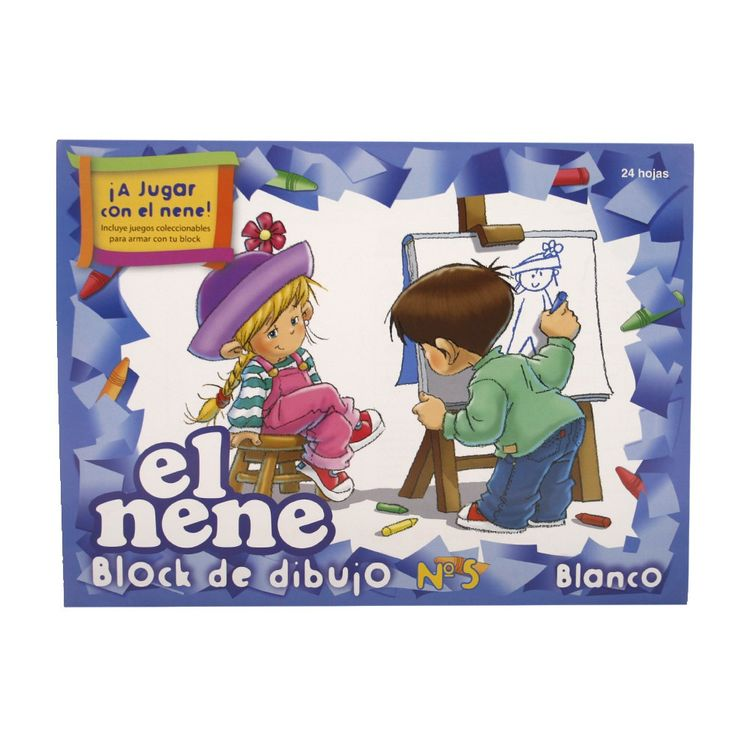 Block-Blanco-El-Nene-N°5-24-Hojas-Block-Blanco-Nº5-El-Nene-24-Hojas-1-19793