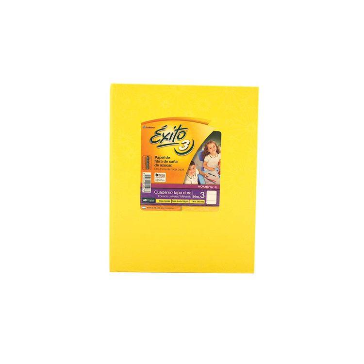 Cuaderno-Rayado-Amarillo-Nº3-exito-48-Hojas-1-34647