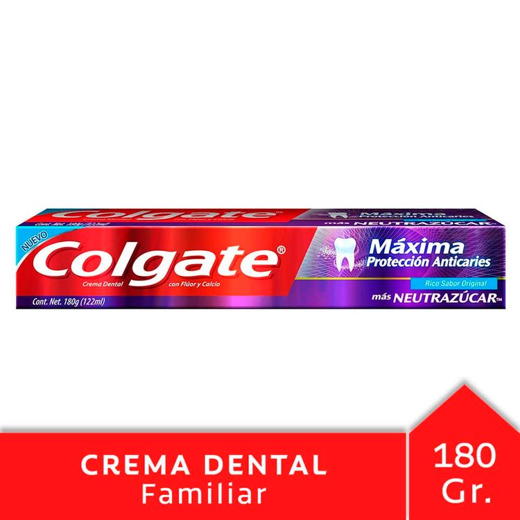 Crema-Dental-Colgate-Maxima-Proteccion-Anticaries-Neutrazucar-180g-1-43802
