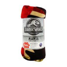 Manta-Flannel-125x150cm-Jurassic-World-Rex-1-290869