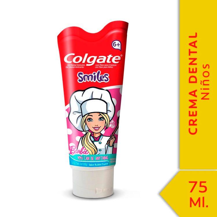 Crema-Dental-Colgate-Smiles-Barbie-6--Años-75ml-1-47097