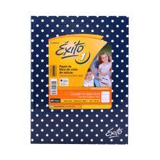 Cuaderno-Rayado-Tapa-Dura-Lunares-Azul-exito-48-Hojas-1-248707