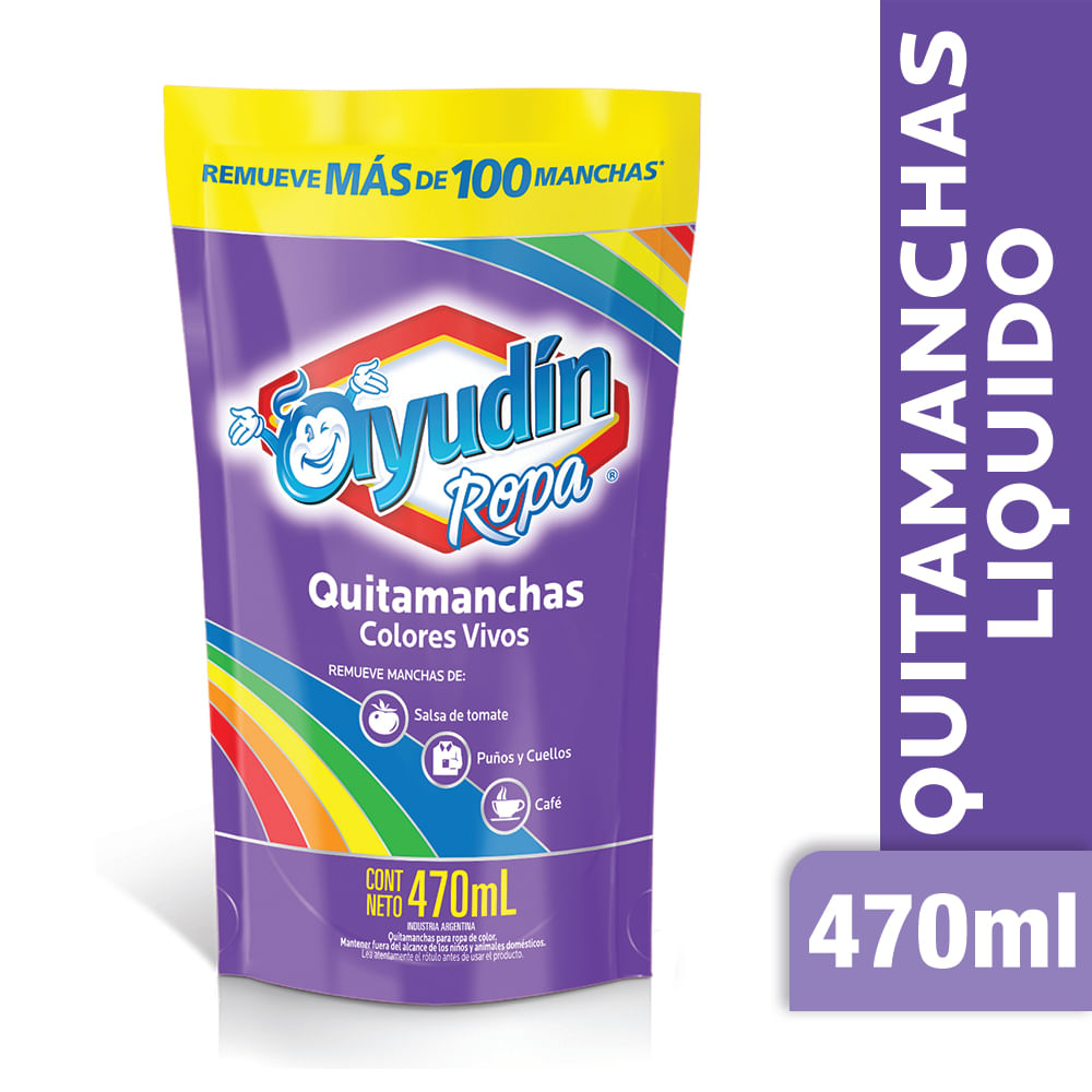 Quitamancha Ayudín líq ropa color 470 ml