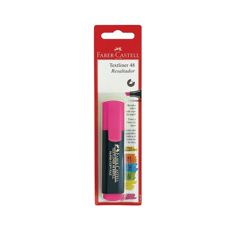 Resaltador-Faber-Castell--T-48-Rosa-1-466358