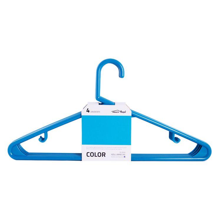 Set-De-4-Perchas-De-Plastico-Azul-Practihogar-1-469007