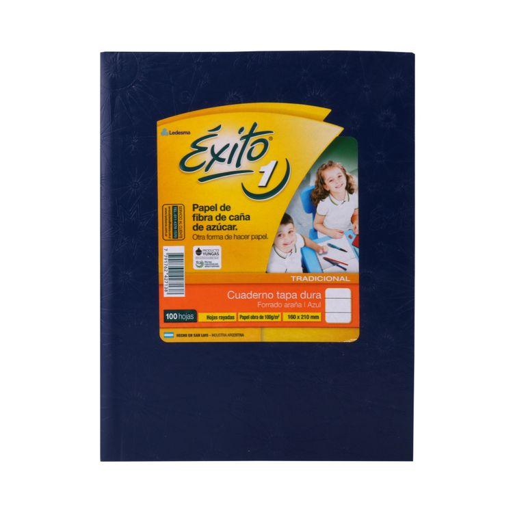 Cuaderno-Rayado--Tapa-Dura-Araña-Azul-exito-100-Hojas-1-30645