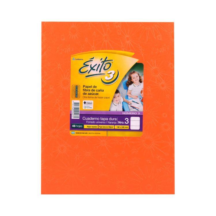 Cuaderno-Rayado-Naranja-Nº3-exito-48-Hojas-1-34638