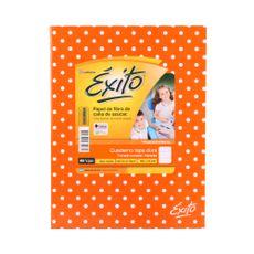Cuaderno-Rayado-Tapa-Dura-Lunares-Naranja-exito-48-Hojas-1-248661