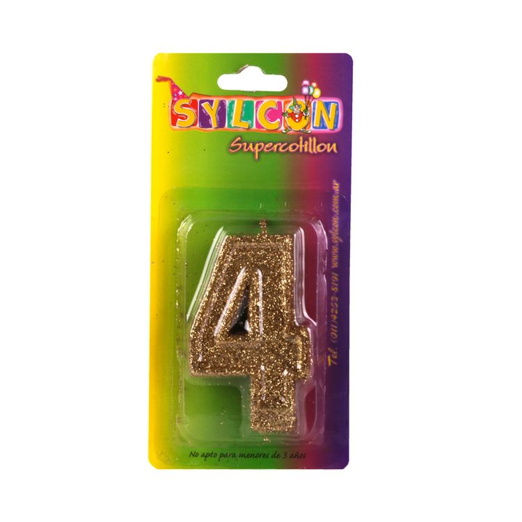 Velas-Cotillon-Sylcon-Gibre-N°-4-Bsa-1-Un-1-239858