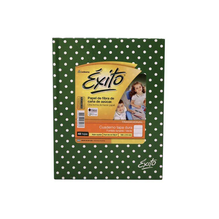Cuaderno-Rayado-Tapa-Dura-Lunares-Verde-exito-48-Hojas-1-248702