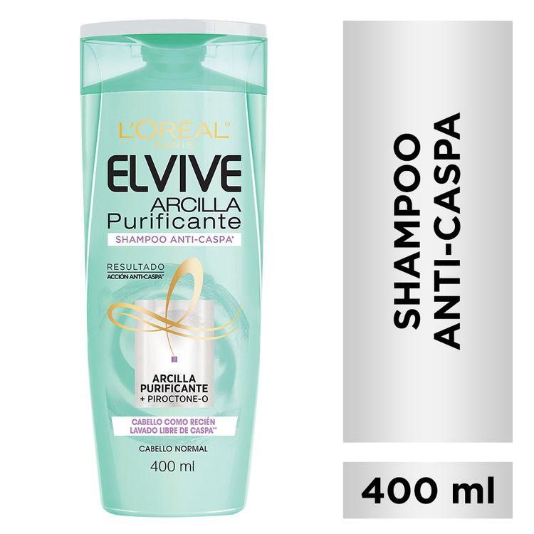 Shampoo-Anti-caspa-Arcilla-Purificante-Elvive-Loreal-Paris-400-Ml-1-38443