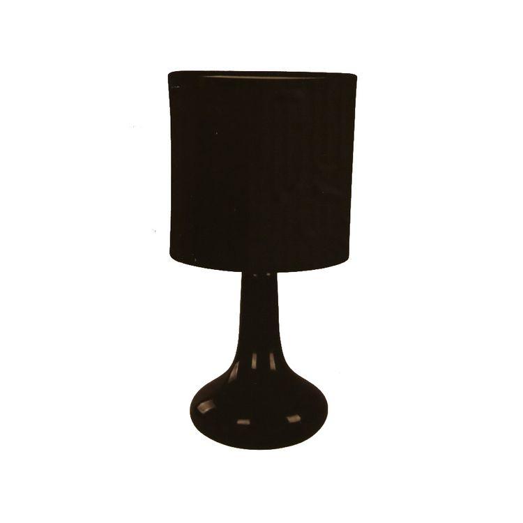 Lamp-Sobremesa-Unicolor-1l-40w-Negro-1-264534