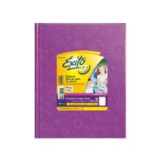 Cuaderno-Rayado-Lila-Nº3-exito-48-Hojas-1-34658