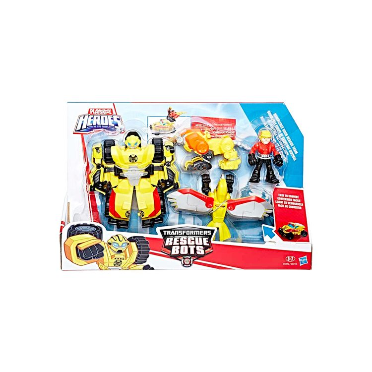 Bot Jumboargentina Rescue Figura Palyskool Transformers 7yY6gbf