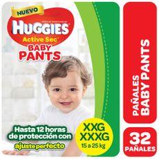 Pañales-Huggies-Pants-Active-Sec-Xxg-32-U-1-244267