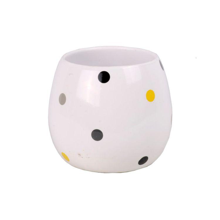 Maceta-Ceramica-14cm-Blanco-puntos-En-Rp-1-599437