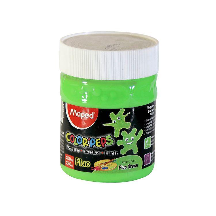 Tempera-Maped-Verde-Fluo-Pote-X-250-Gr-cja-un-1-1-72190