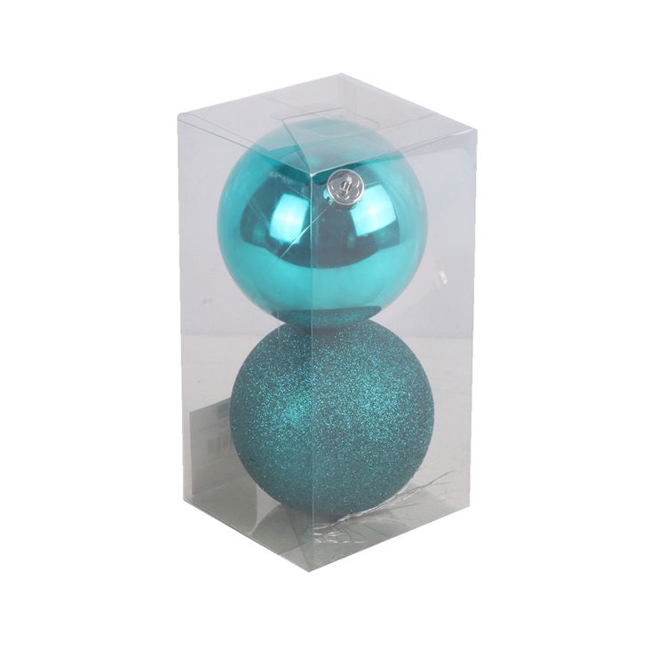 Set-X-2-Esferas-Turquesa-Basicas-10cm-1-681075