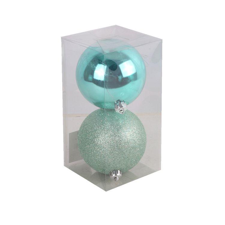 Set-X-2-Esferas-Menta-Basicas-10cm-1-681078