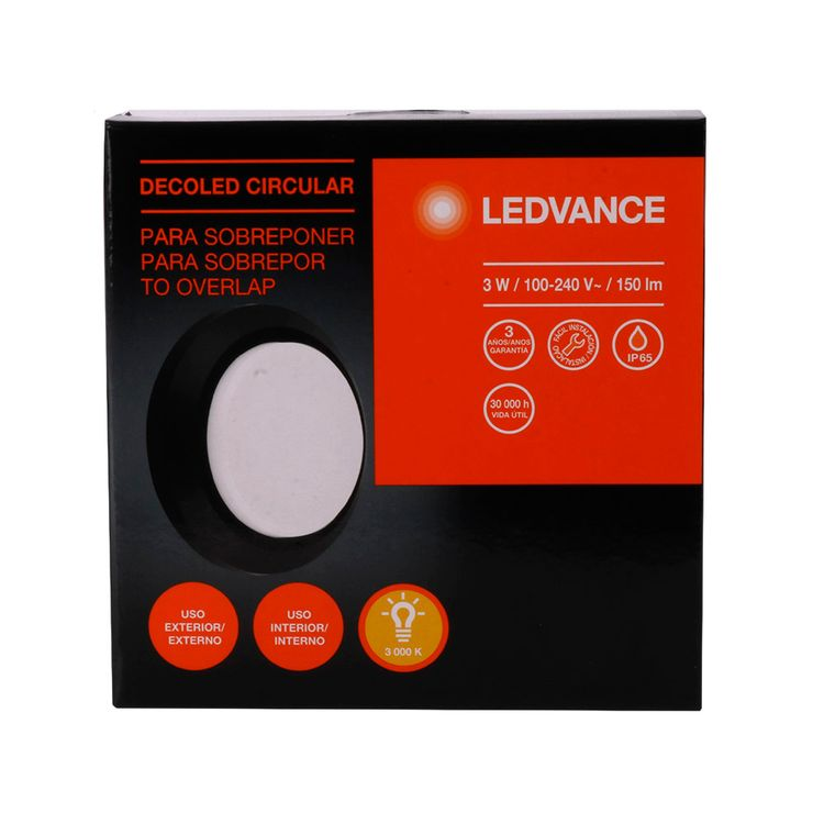 Ledvance-Decoled-Circular-Black-3w-Ip65-1-812512
