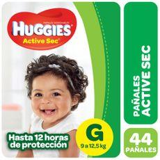 Pañales-Huggies-Active-Sec-G-44-U-1-46160