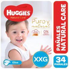 Pañales-Huggies-Natural-Care-Ellos-Hiper-Pack-Xxg-34-U-1-237431