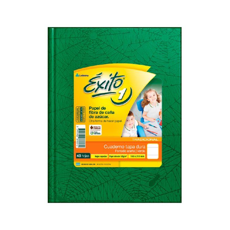 Cuaderno-Rayado-exito-Araña-Verde-48-Hojas-1-10655