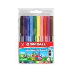Marcadores-Simball-X-10-Colores-Estandar-1-34970
