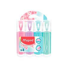 Resaltador-Fluo-Pastel-Pack-X-4-Colores-Rosa---1-843159