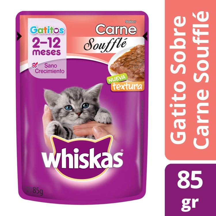 Alimento-Whiskas-Gatito-Souffle-Carne-X85g-1-17936